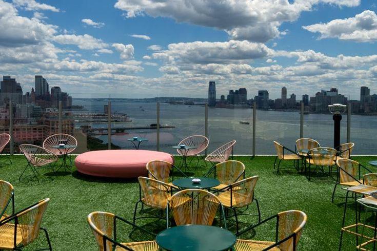 Le Bain at The Standard High Line - Le rooftop et sa pelouse artificielle
