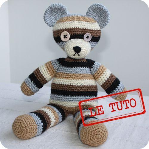 1000 id es sur le th me mod les d 39 animaux au crochet sur - Bijoux au crochet modele gratuit ...
