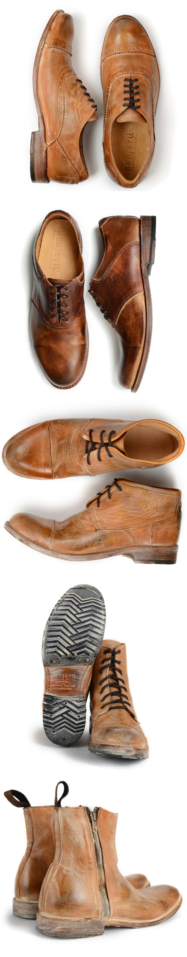Some shoes require a little work, wear and aging to bring out their true/best personality...