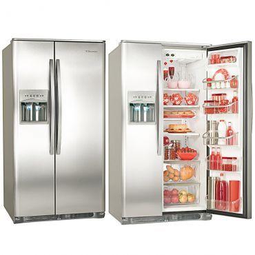 Refrigerador | Geladeira Electrolux Frost Free Side by Side 656 Litros Inox Altura (mm) 1735 Largura (mm) 905 Profundidade (mm) 807