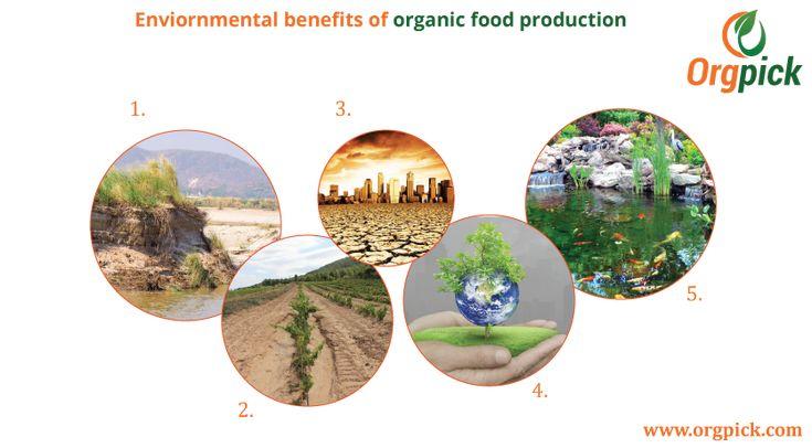 Environmental benefits of organic food production we