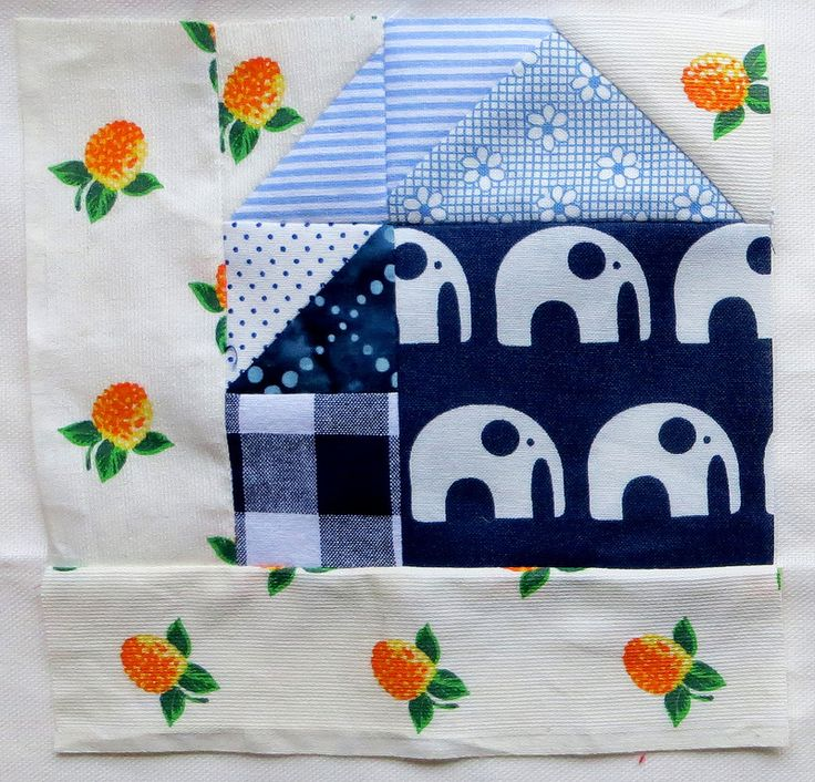 tangram house block http://slootjesschilder.blogspot.nl/2014/04/doubledutchqal-block-1.html