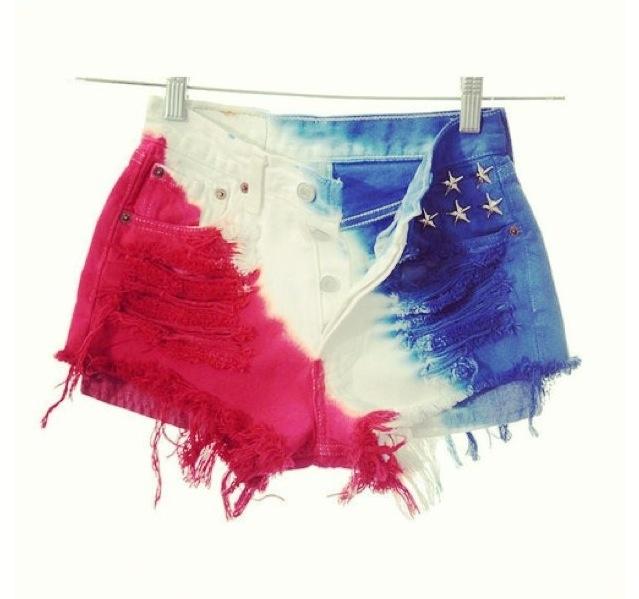 Dip died shorts!!