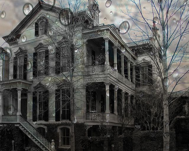 Haunted House by jbarc in BC, via Flickr