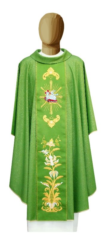 Chasuble Good Shepherd. Made in Italy. info@tiemmecreazioni.it