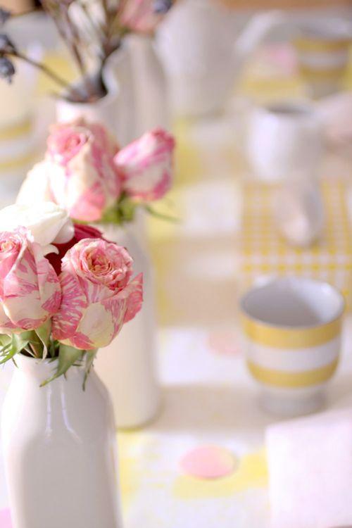 .: Rose Flowers, Spring Flowers, Pink Flowers, Pink Yellow, Beautiful Flowers, Pink Cupcakes, Pink Rose, Beautiful Rose, Yellow Spring