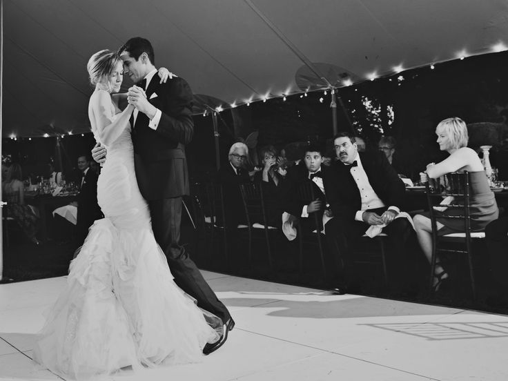 This is an awesome list!!  25 Romantic First Dance Wedding Songs   Photo by: Sweet Monday Photography   TheKnot.com