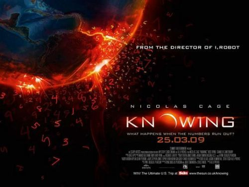 (SDRSP) Knowing 2009 (dir. Alex Proyas) Rated 12 - A science fiction thriller film directed by Alex Proyas and starring Nicolas Cage.