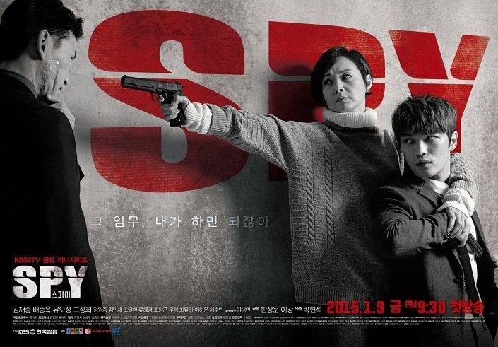 [K-Drama]  Judul Drama : SPY/ Seupai Genre : Thriller, Family, Romance Stasiun TV : KBS2 Jumlah Episode : 16 Episode Mulai Tayang : 9 Januari 2015 Jam Tayang : Jumat, Pukul 20.55 KST  SINOPSIS :  Drama ini menceritakan seorang yang bernama Sun Woo (Jaejoong) yang merupakan seorang agen di Badan Intelijen Nasional. Ibunya merupakan mantan mata-mata Korea Utara.  CAST :~  https://www.instagram.com/koreabasecamp/
