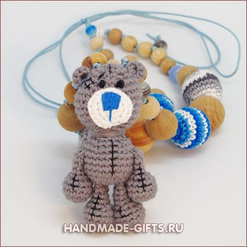 "Nursing necklace ""Teddy Bear"""