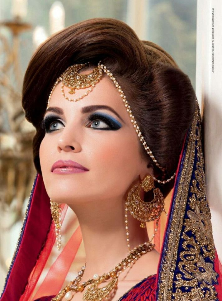 Wedding Makeup Round Face For Women Indian Wedding Hairstyles Bride Hairstyles Matha Patti Hairstyles