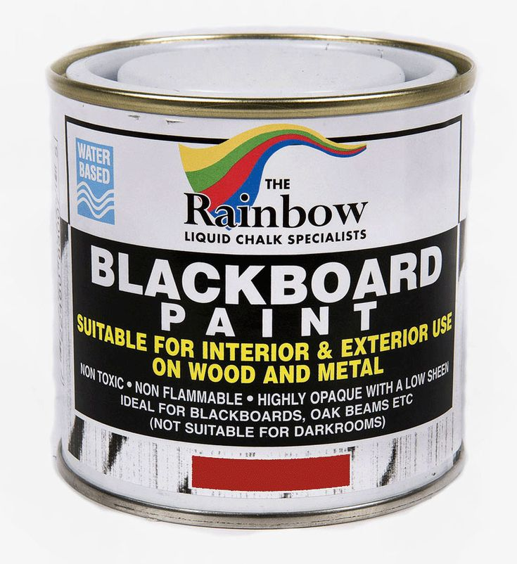 Red Chalkboard paint from Rainbow Chalk Rainbow Chalkboard paint gives you the perfect writing surface for Liquid Chalk Pens and Markers This paint
