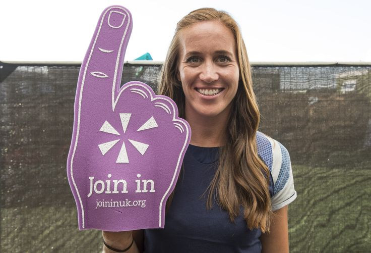 Huge thanks to Helen Glover for showing her support for Join In at Go Local in July. For more information on athletes and volunteers visit www.joininuk.org