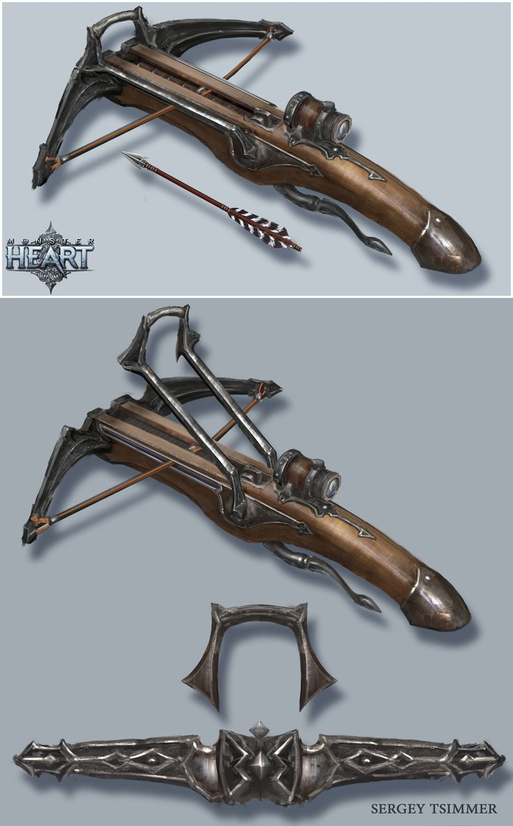 ArtStation - CROSSBOW, Sergey Tsimmer