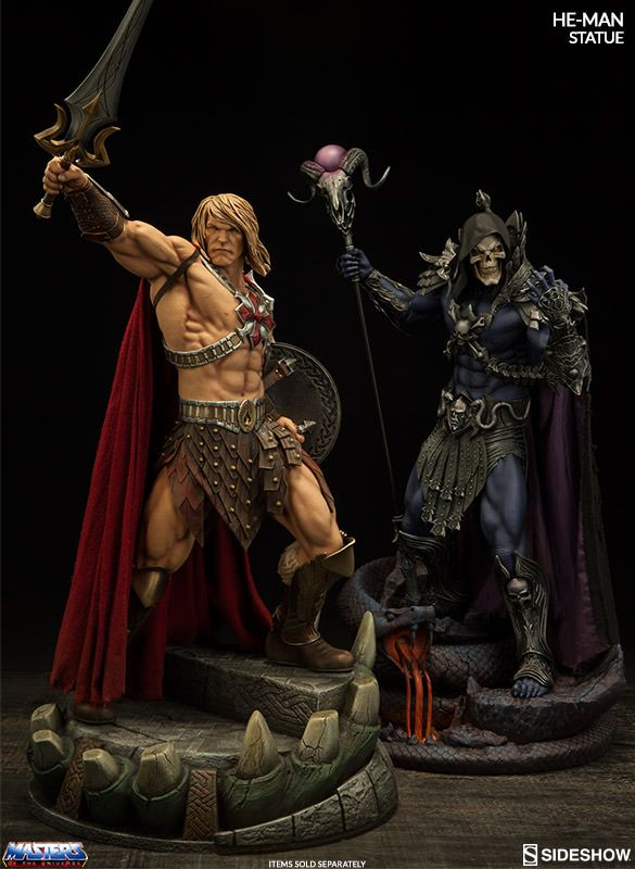 Masters of the Universe HeMan Statue by Sideshow Collectible   Sideshow Collectibles
