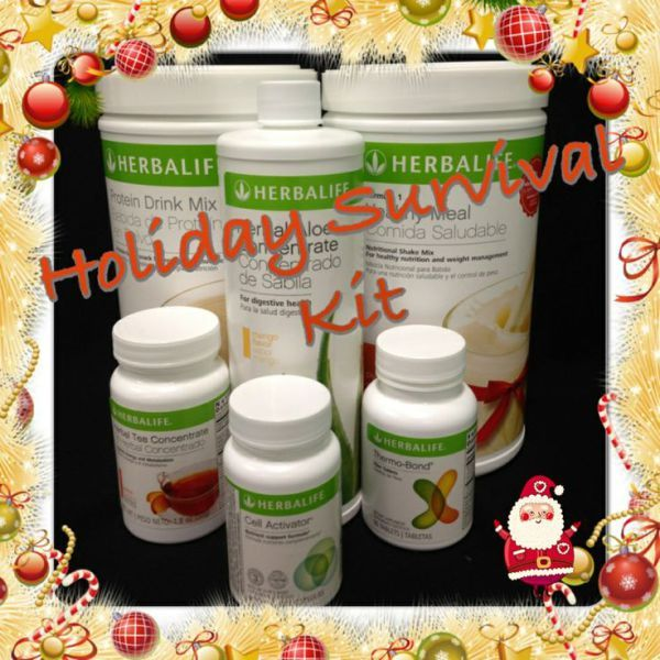 """Holiday Survival Kit- Here's how you can avoid weight gain during the Holiday Season! Try our Product Combos and you won't gain any weight during the holidays! Feel the difference within days! Order your """"Holiday Survival Kit"""" ONLINE NOW:  https://www.goherbalife.com/goherb or call: +12143290702 #InShapeForChristmas #NoWeightGainThisChristmas #FestiveSeason #InShapeThisYear #diet #sabrinaefabio #HerbalifeNutrition #HolidaySurvivalKit #HerbalifeFatFlushKit #HerbalifeProductCombos"""