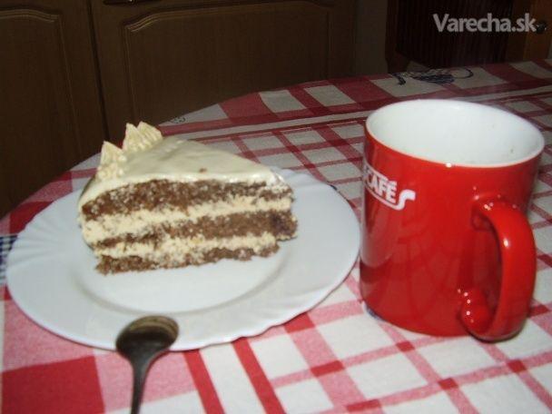 Kávová torta (fotorecept)