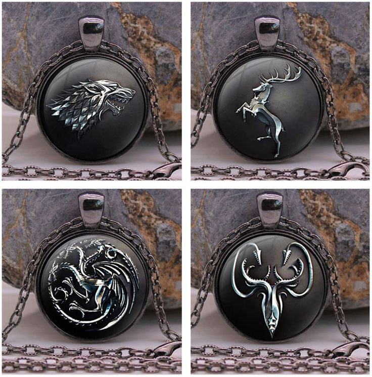 Which House are You Part Of? GOT Necklace Pendant  Just Pay Shipping!