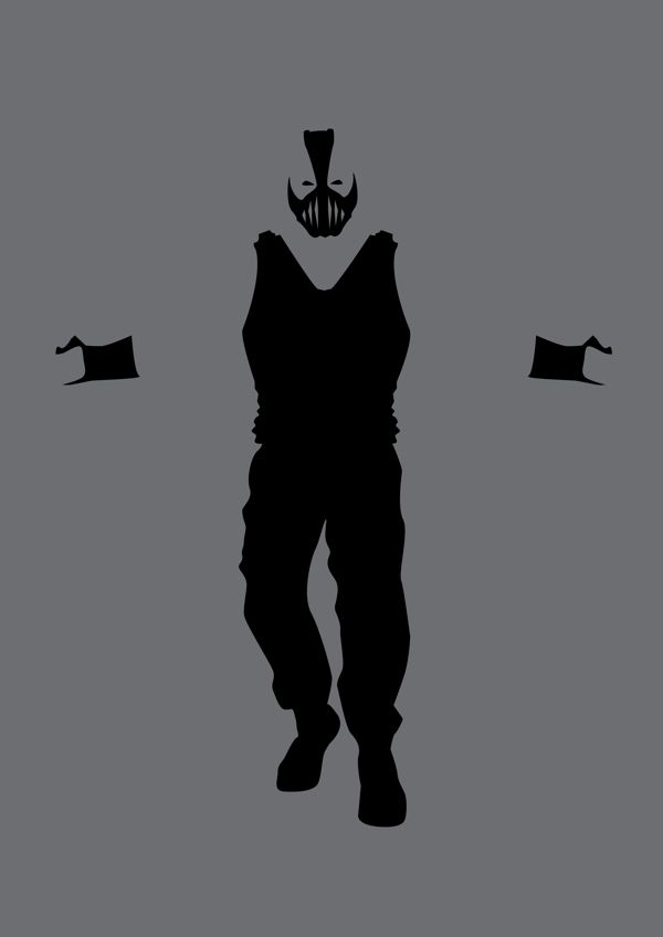 Super Villains Minimalist Posters by Michael Turner, via Behance