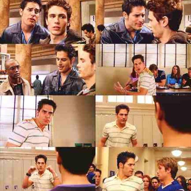 Joe Manganiello, Sofia Vergara's man, was the grumpy bully kid in Spider-Man (2002) with Tobey MaGuire and James Franco!!!