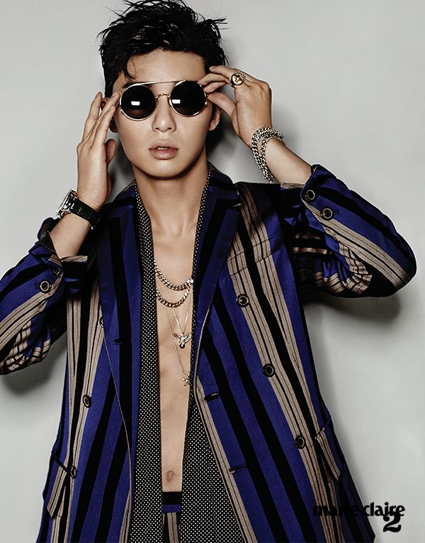Park Seo Joon - Marie Claire Magazine December Issue '14