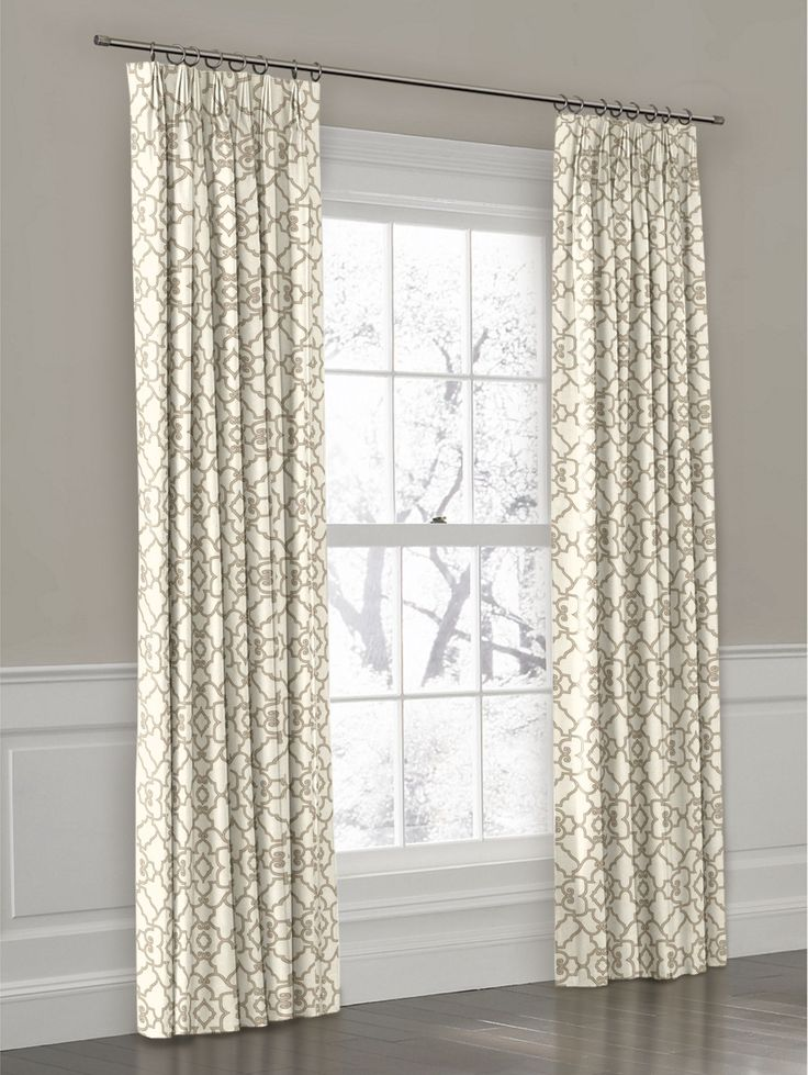 Custom European Pinch Pleat Curtain Panel | Loom Decor | Loom Decor