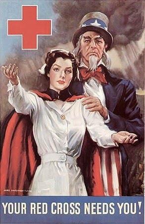 WWII Uncle Sam & Nurse