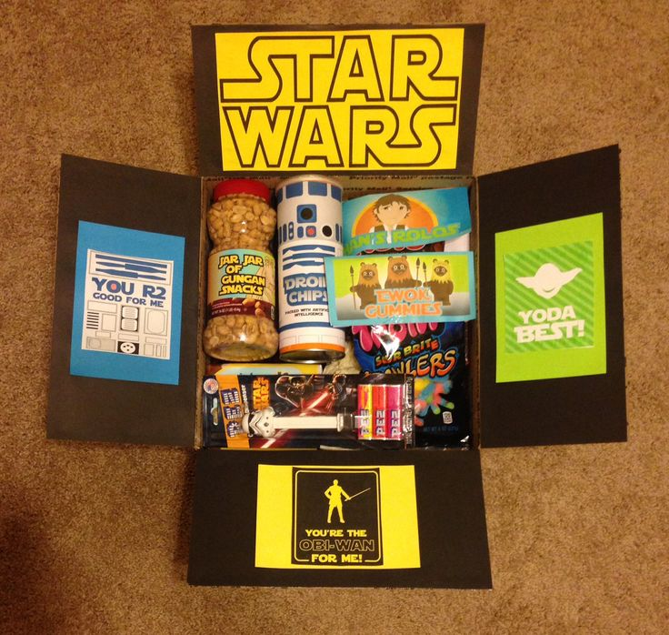 Star Wars Care Package #starwarscarepackage #nerdcarepackage