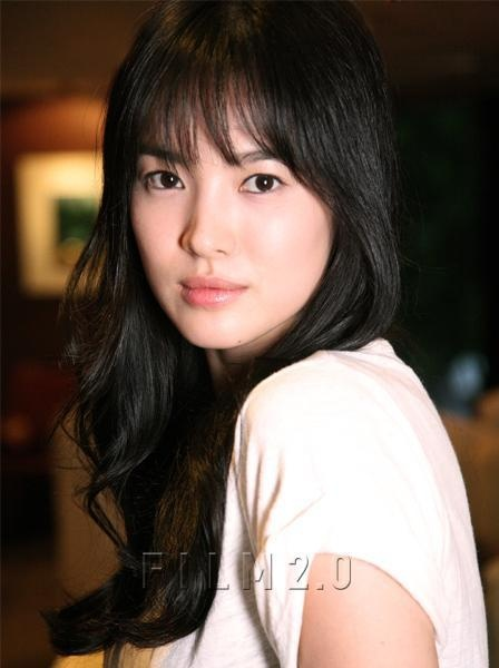 beautiful hair style photos song hye kyo shk style song hye kyo 5754