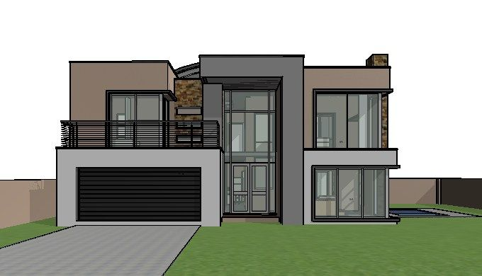 4 Bedroom House Plan 8211 M301d Modern Contemporary House Plans 2 Storey House Design Double Storey House Plans