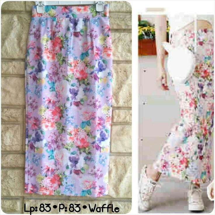 CD495 long skirt IDR 78.000