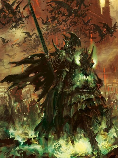 Blood Knight. Warhammer fantasy artwork.