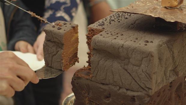 Kage med chokolademousse Tobias Belgien