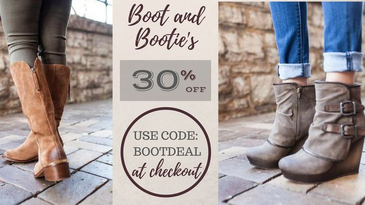 Offer valid In-Store and Online! Shop here: www.spoolofdreams.com/  What a better way to treat yourself? Buy the shoes you have been wanting, and saving 30% OFF!   Use code: BOOTDEAL at checkout!