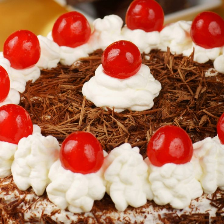 To allow for the full flavor in this authentic German black forest cake, make the cake one or two days ahead of when you will need it.  This will allow time for the kirsch to soak into the cake and become moist.