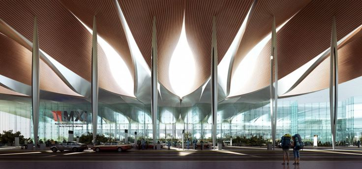 Sordo Madaleno & Pascall+Watson Present Proposal for New Mexico City Airport