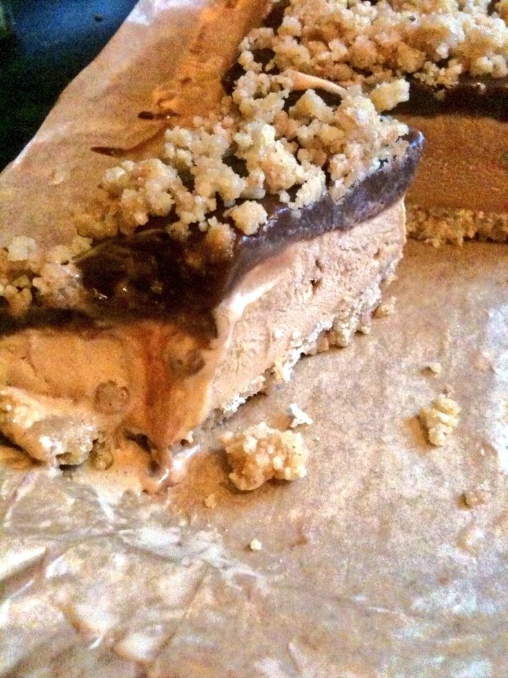 Salted Caramel Chocolate Fudge Ice cream Bars...You have to try this....