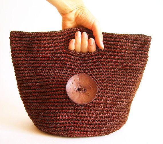 Gehäkelte Muster für Tasche-Kupplung mit von chabepatterns auf Etsy