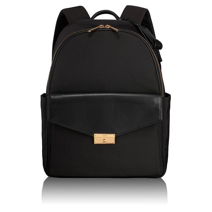 Amazon.com | Tumi Women's Larkin Small Portola Convertible Backpack, Black, One Size | Casual Daypacks
