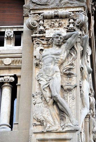 Roma - Quartiere Coppedè - Decorazioni esterne   #TuscanyAgriturismoGiratola