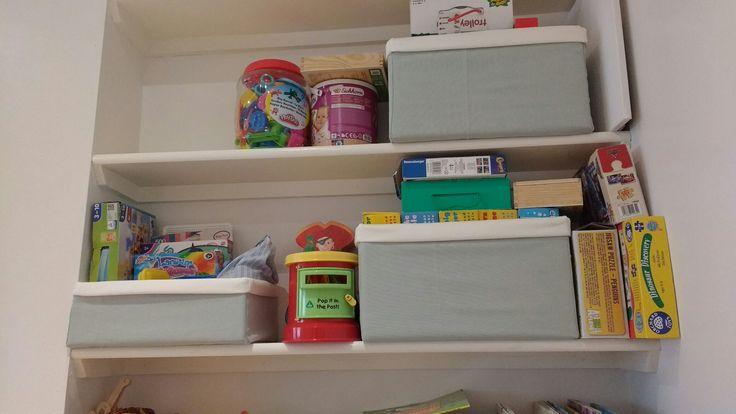 Fabric storage boxes