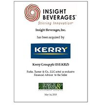 Leading beverage distributor is sold to nutrition-focused company.
