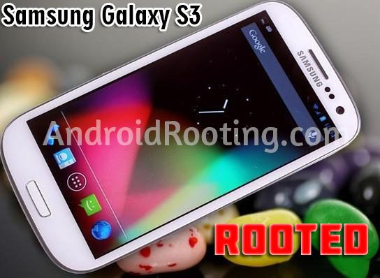 How to root Samsung Galaxy S3 GT-I9300 or GT-I9300T [CWM Recovery]