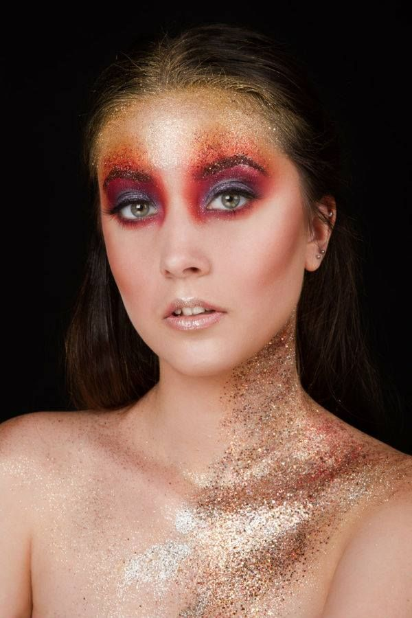 Glitter is awesome! #glittermakeup #sclipici