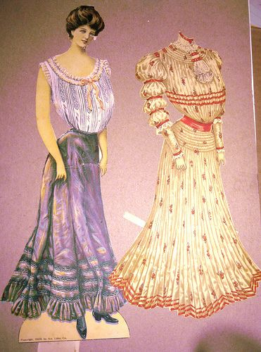 Sunday Sun Paper Doll/Dress by Pennelainer, via Flickr