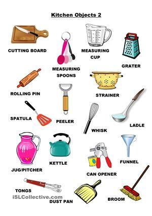 224 best cooking vocabulary images on pinterest english for Utensilios de cocina y sus funciones pdf