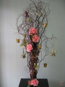 Enchanted Forest Tree centerpiece