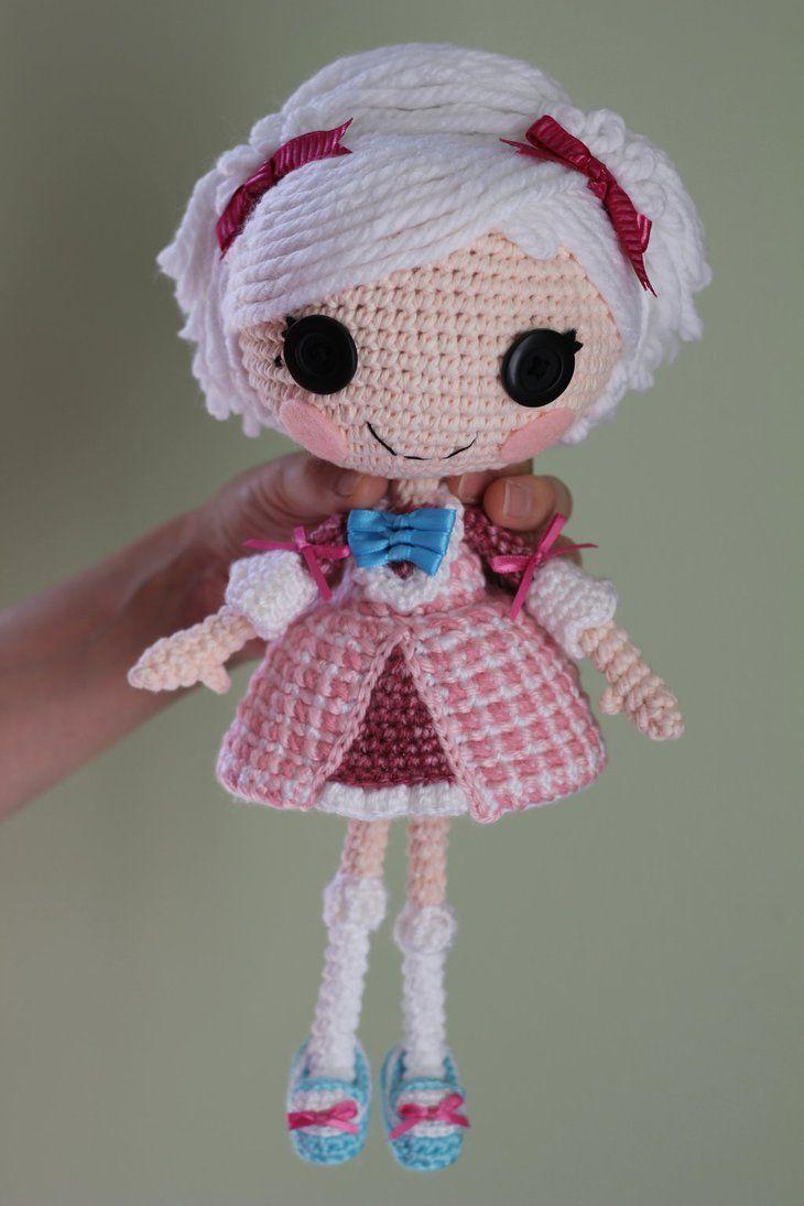 LALALOOPSY Suzette La Sweet Crochet Amigurumi Doll by Npantz22