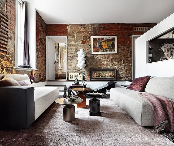 Apartment In Art Piece: Rough & Ready: Rugged Apartment Is Textured In Design With