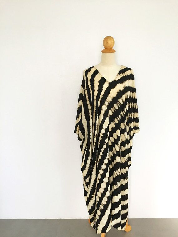 Oversized Dress Caftan Dress Moroccan Kaftan by LinolisticShop